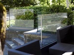 Sprühfarbe Für Glas : windschutz aus glas f r balkon terrasse glasvetia ~ Frokenaadalensverden.com Haus und Dekorationen