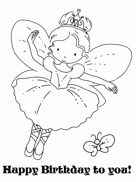 Flower Fairy Coloring Pages Coloring Home