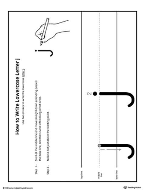 write lowercase letter  printable poster