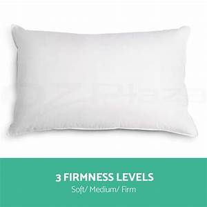 family 4 pack bed pillows soft medium firm cotton cover With best medium firm pillow