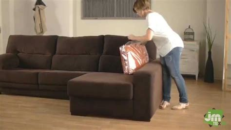 put  stretch chaise sofa cover youtube