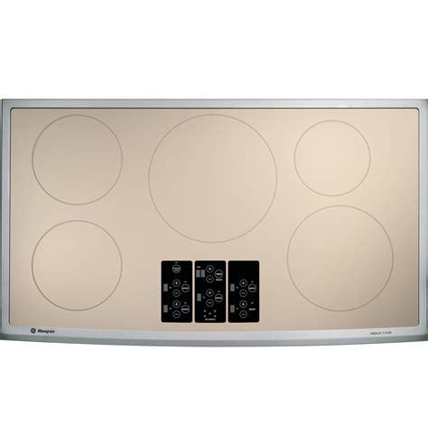 ge monogram  induction cooktop zhursmss ge appliances