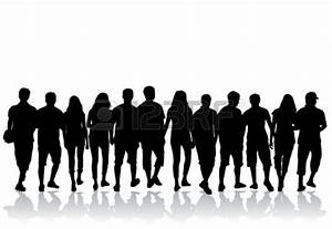 15 Crowded People Sitting Vector Images - Crowd of People ...