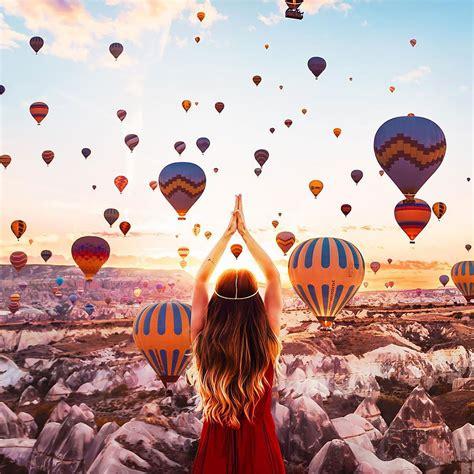 Unreal Hot Air Balloons Captured In Cappadocia Turkey