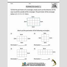 Math Salamanders  3rd Grade Perimeter Worksheets  Math For Third Grade  Pinterest Perimeter