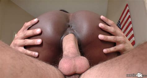 Black Coochie Of Sweet Ebony Ana Foxxx Takes Big White Dick And Creampie