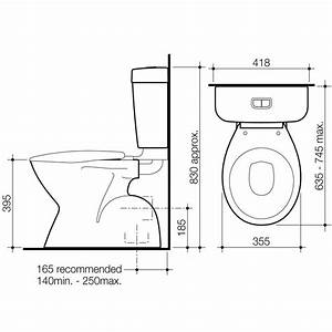 AIRE CONCORDE CONNECTOR TOILET SUITE Thrifty Plumbing