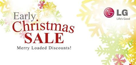 lg mobile early christmas sale grab  discount