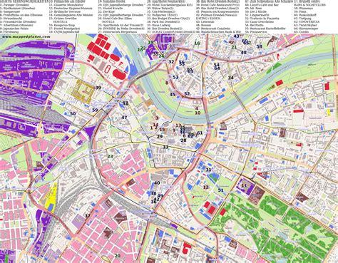 karten und stadtplaene dresden