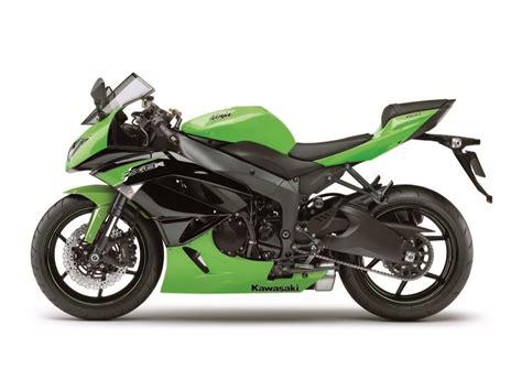 Kawasaki Ninja Zx-6r Gets New Colors For 2012