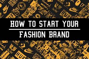 How to start a clothing brand sl black label for How to start a clothing label
