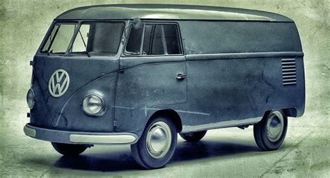 first volkswagen ever the original vw transporter just turned 65 and it 39 s still