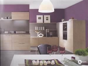 quelle peinture pour ma cuisine ouverte sur salon sejour With idee peinture salon cuisine ouverte