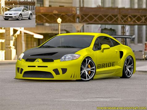 modified mitsubishi eclipse mitsubishi eclipse modified by pakdesigner on deviantart