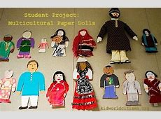Make Multicultural Paper Dolls MontessoriInspired
