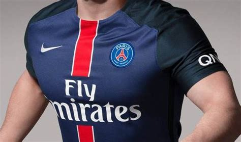 Official New PSG Home Kit 15-16 by Nike Unveiled ...