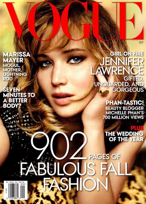 Jennifer Lawrence Gets Her Close-up for Vogue's September ...