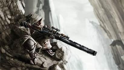 Krieger Fiction Science Alphacoders Sniper 2048 1152