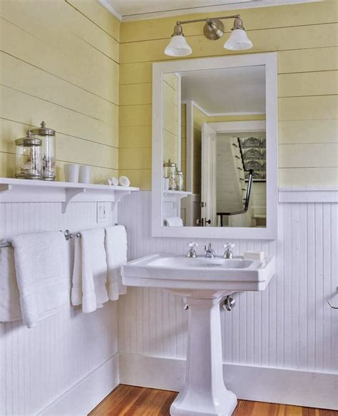Bathroom Paneling Ideas by Beadboard Bathroom Wainscoting Laundry Room Linen