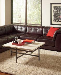 italsofa leather sofa macys macy s italsofa two chocolate leather sectional sofa
