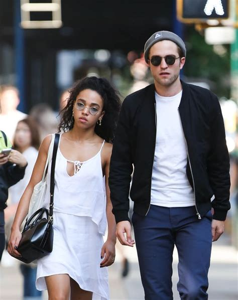 Robert Pattinson's girlfriend FKA Twigs admits she's never ...