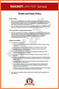 Hse Health And Safety Policy Template 5 Occupational Health And Safety Report Template Progress Report
