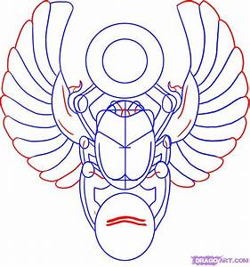 How to Draw a Scarab Design, Step by Step, Tattoos, Pop ...