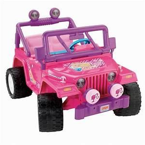 Power Wheels Barbie Jammin Jeep Wrangler  Pink  Parts