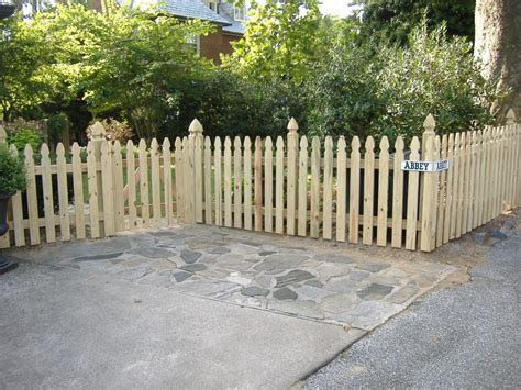 model wood picket fence panels design ideas building