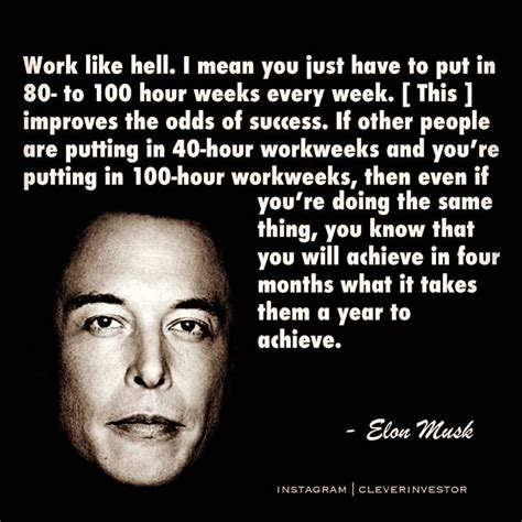 intj quote elon musk elon musk  true visionary