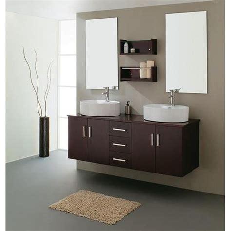meuble de salle de bain ombra wenge 150 cm achat vente ensemble meuble sdb meuble de salle