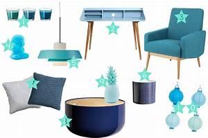 Deco Bleu Canard : deco salon bleu petrole canard accueil design et mobilier ~ Teatrodelosmanantiales.com Idées de Décoration