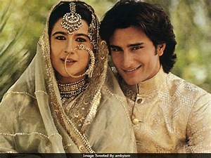 Saif Ali Khan, Amrita Singh's Wedding Pic Goes Viral ...