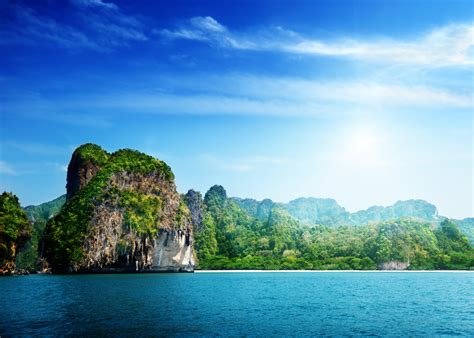 wallpaper thailand   wallpaper ocean rocks sky
