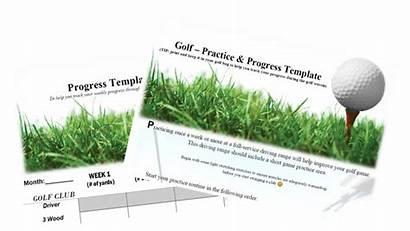 Golf Progress Practice Cad Template