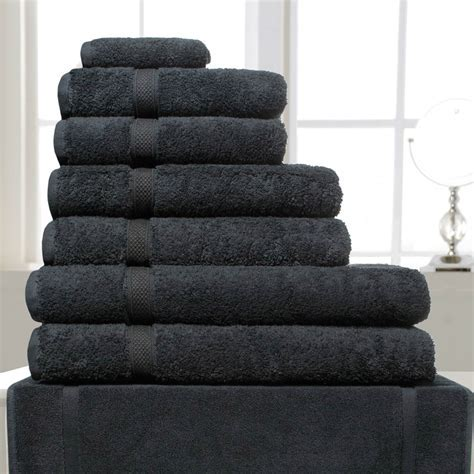 White, Pebble & Slate Madison Bath & Hand Towels For Hotels & Spas Richard Haworth