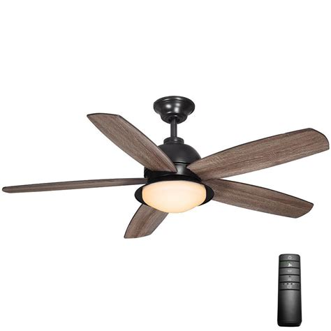 outdoor ceiling fans with remote control home decorators collection ackerly 52 in led indoor