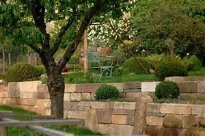 Natursteinmauern Im Garten : natursteinmauern schaffen atmosph re und lebensr ume ~ Markanthonyermac.com Haus und Dekorationen