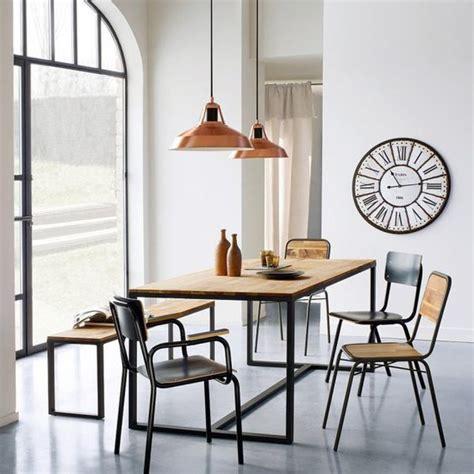 la redoute table cuisine 17 meilleures idées à propos de table industrielle sur