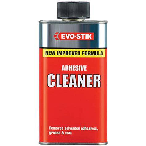 Tile Adhesive Remover Homebase by Evo Stik Adhesive Cleaner 250ml