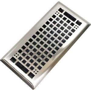 metal floor registers home depot modern homes egg crate 4 in x 10 in steel floor register