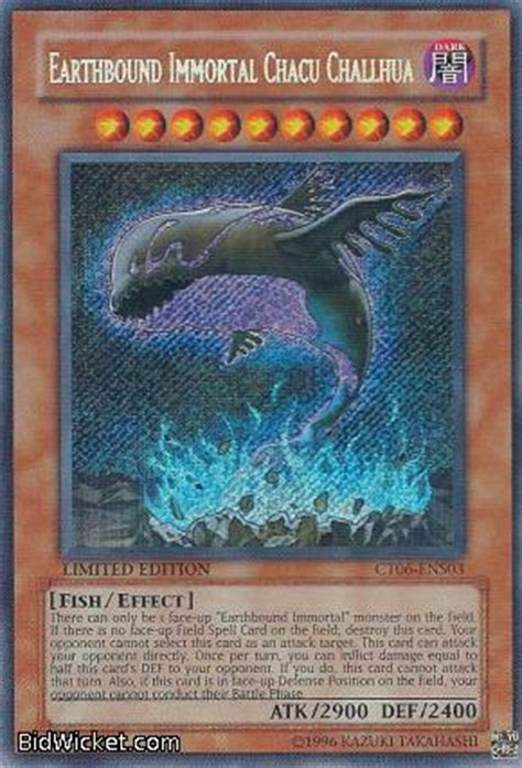 Earthbound Immortal Deck 2011 by Yugioh Earthbound Immortal Chacu Challhua Cars