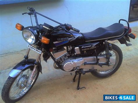 used 2001 yamaha rx 135 for sale in bangalore id 100970 black colour bikes4sale