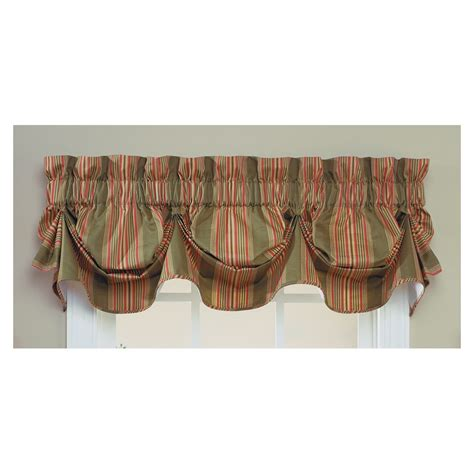 shop waverly home classics 16 in olive cotton rod pocket
