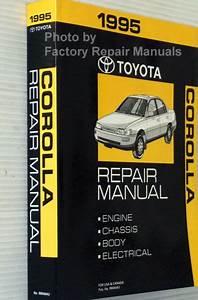 1995 Toyota Corolla Factory Service Manual Original Shop