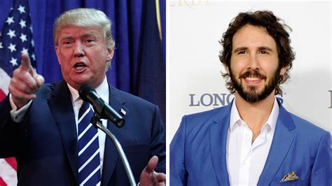 josh groban sings donald s tweets in hilarious jimmy kimmel live clip today