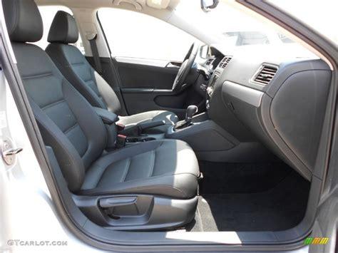 Titan Black Interior 2012 Volkswagen Jetta Sel Sedan Photo