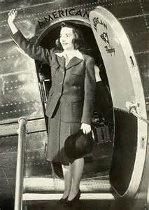 American Airlines Vintage Flight Attendant