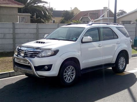 Toyotas For Sale by Autonet Helderberg Fortuner Fortuner 3 0d 4d 4x4
