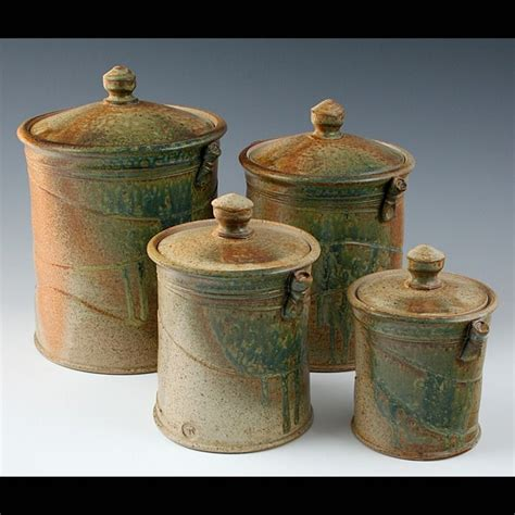 Canister Sets Ceramic by Pottery Canisters Kitchen Search House